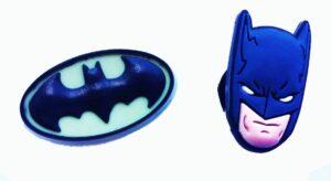 Set 2 Jibbitz per Crocs Batman