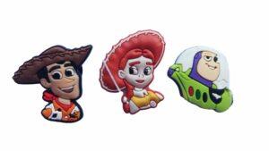 Set 3 Jibbitz per Crocs Toy Story