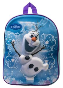 Disney Frozen Zainetto asilo 3D Olaf
