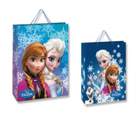 Set 12 sacchetti per regalo Frozen 23 x 16 x 9 cm