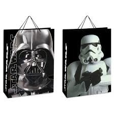 Set 12 sacchetti per regalo Star Wars 33 x 45,5 x 10 cm