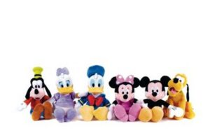 Peluche Topolino and Friends