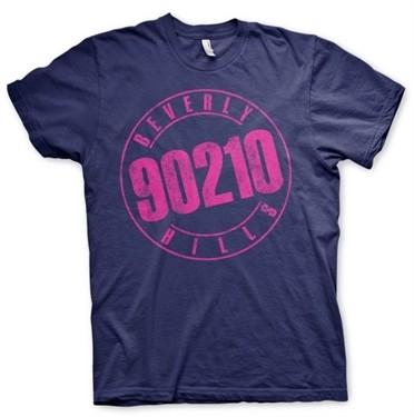 Beverly Hills 90210 Distressed Logo T-Shirt