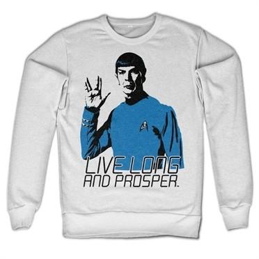 Star Trek - Live Long And Prosper Felpa