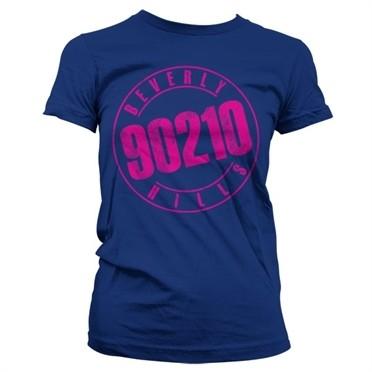 Beverly Hills 90210 Distressed Logo T-shirt donna