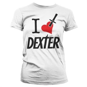 I Love Dexter T-shirt donna