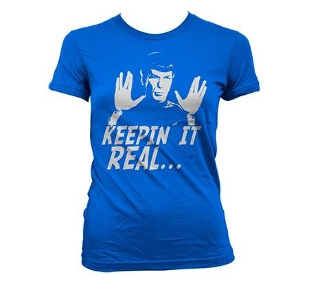 Star Trek - Spock Keepin' It Real T-shirt donna