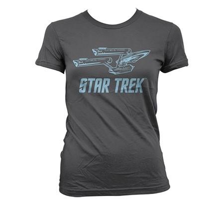 Star Trek / Enterprise Ship T-shirt donna