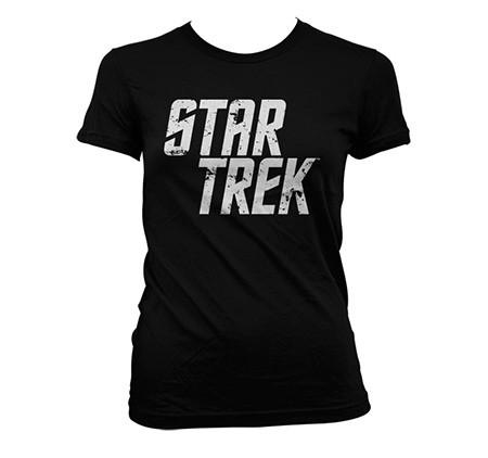 Star Trek Distressed Logo T-shirt donna