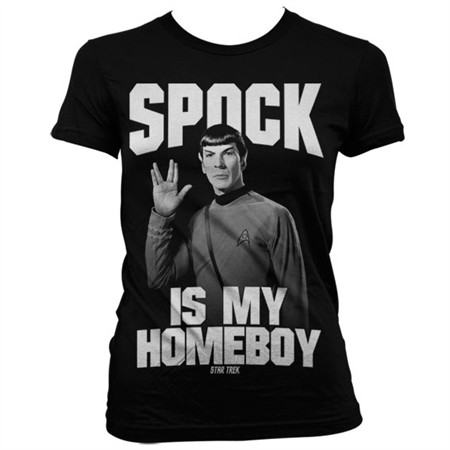 Spock Is My Homeboy T-shirt donna