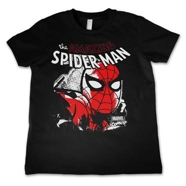 Spider-Man Close Up T-shirt Bambino