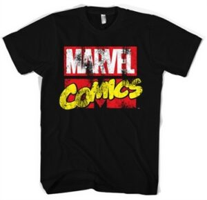 Marvel Comics Retro Logo T-Shirt