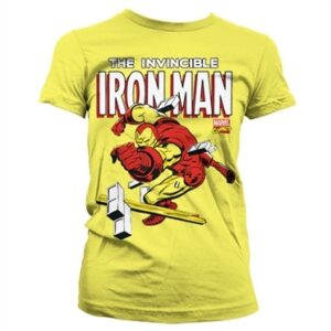 The Invincible Iron Man T-shirt donna