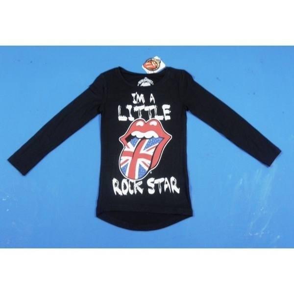 Maglia manica lunga 'I'm a Little Rock Star'