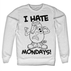 Mr Potato Head - I Hate Mondays Felpa