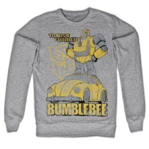 Bumblebee Distressed Felpa