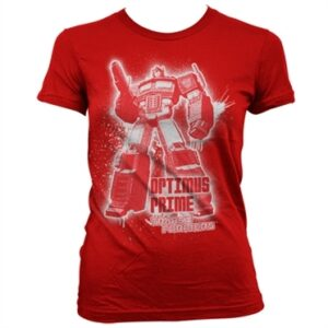 Optimus Prime Splatter T-shirt donna