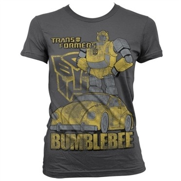 Bumblebee Distressed T-shirt donna