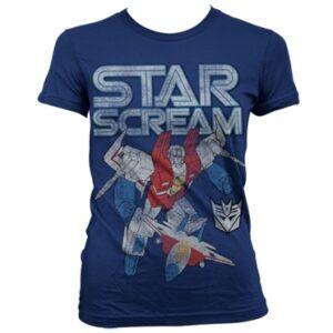 Starscream Distressed T-shirt donna