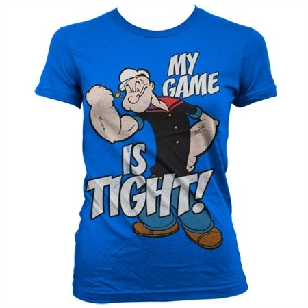 Popeye - Game Is Tight T-shirt donna