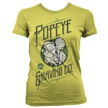 Popeye's Shaving Co T-shirt donna