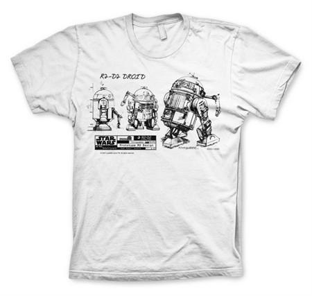 R2D2 Blueprint T-Shirt