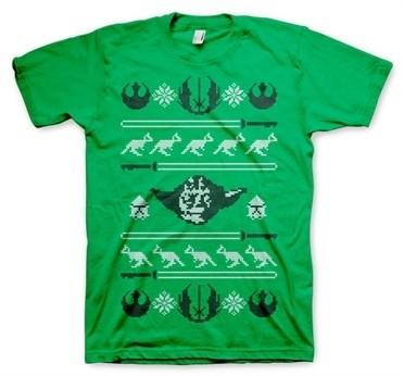 Star Wars Yodas X-Mas Knit T-Shirt