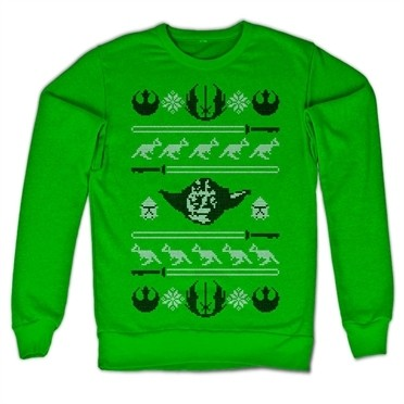 Star Wars Yodas X-Mas Knit Felpa