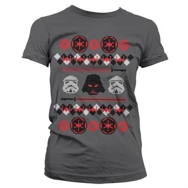Star Wars Imperials X-Mas Knit T-shirt donna