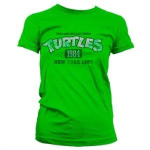Turtles NY 1984 T-shirt donna
