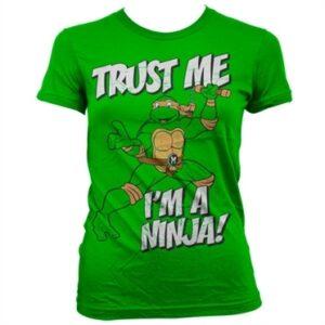 TMNT - Trust Me, I'm A Ninja T-shirt donna