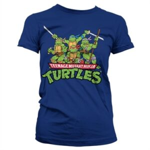 Turtles Distressed Group T-shirt donna