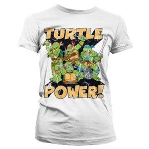 TMNT - Turtle Power! T-shirt donna