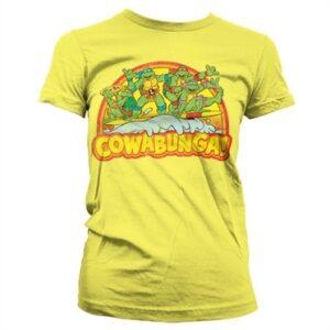 TMNT - Cowabunga T-shirt donna