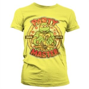 TMNT - Party Master Since 1984 T-shirt donna