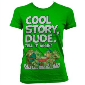 TMNT - Cool Story Dude T-shirt donna