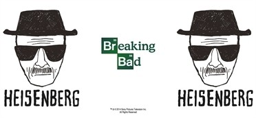 Heisenberg Sketch Tazza Mug