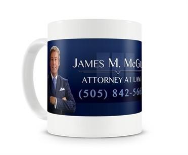 James M. McGill Billboard Tazza Mug