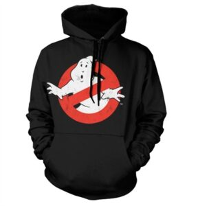Ghostbusters Distressed Logo Felpa con Berrettopuccio