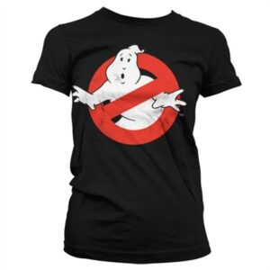 Ghostbusters Distressed Logo T-shirt donna