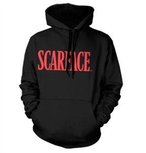 Scarface Logo Felpa con Berrettopuccio