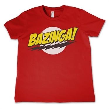Bazinga Super Logo T-shirt Bambino