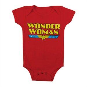 Wonder Woman Logo Baby Body