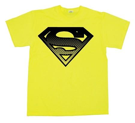 Superman Halftone Shield T-Shirt