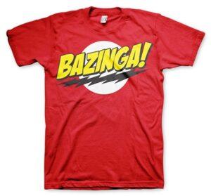Bazinga Super Logo T-Shirt
