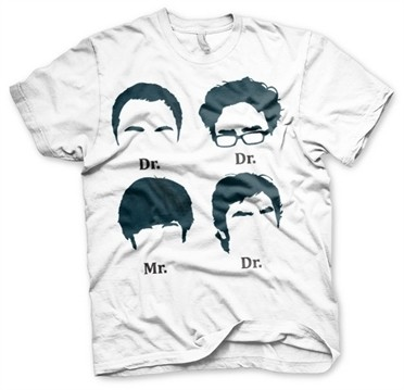 Big Bang Theory Prefix Heads T-Shirt