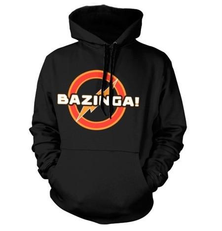 Bazinga Underground Logo Felpa con Berrettopuccio