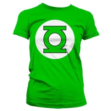 Green Lantern Logo T-shirt donna