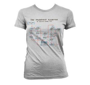 Dr. Sheldon Cooperᄡs Friendship Algorithm T-shirt donna