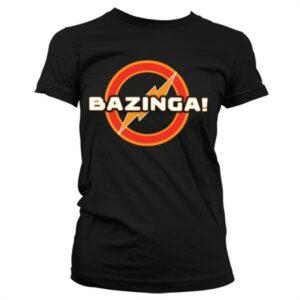 Bazinga Underground Logo T-shirt donna